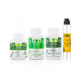 Healing Set No.5 Weight Loss & Management + Massage Oil Gift