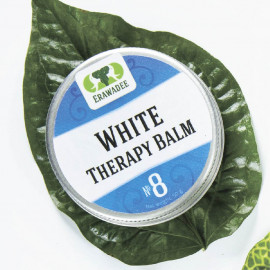 Set 10 pcs No. 8 Ya Mong Khao White balm Cold and flu small